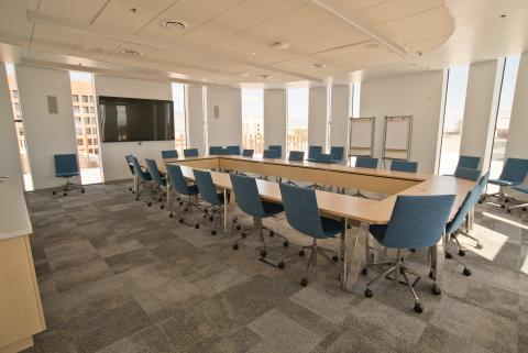 Standard Square Footage Of Conference Room