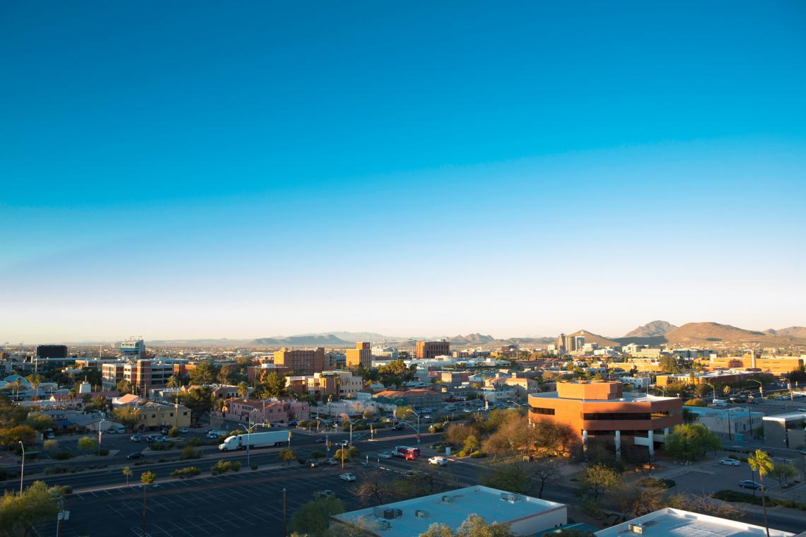 Landscapes of the UA Campus and Tucson.